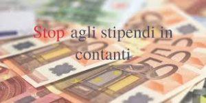 Risultati immagini per Stipendio, addio contanti: pagamento solo con bonifico dal 1° luglio 2018